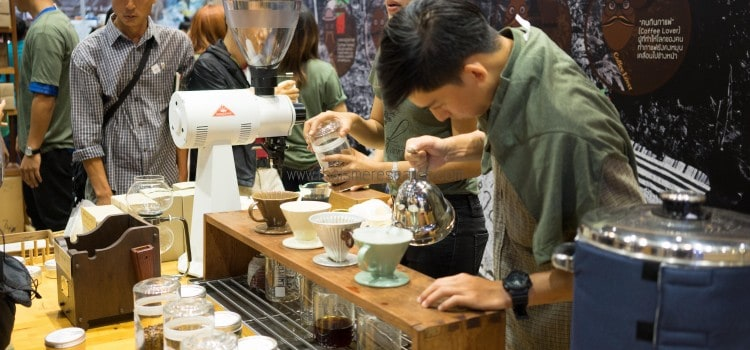 รีวิว งาน SCATH AND CP RETAILINK PRESENT THAILAND COFFEE FEST 2016